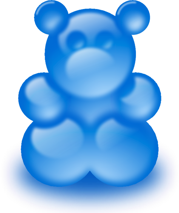 clipart freeuse stock Gummy bear clipart. Large sort of png