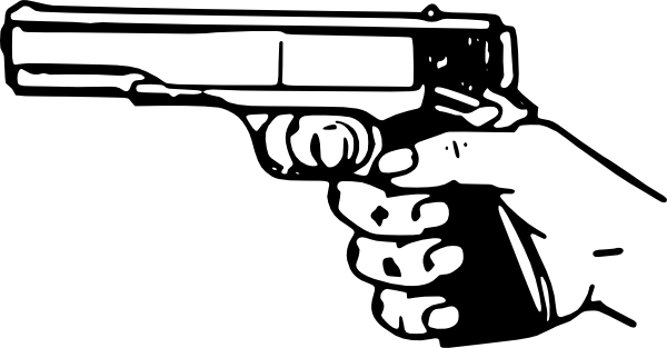banner freeuse Shot . Gun clipart.