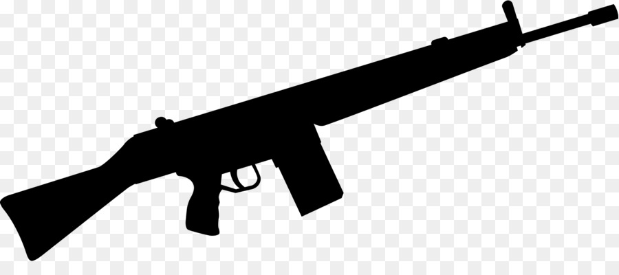 jpg freeuse download Machine firearm weapon rifle. Gun clipart black and white