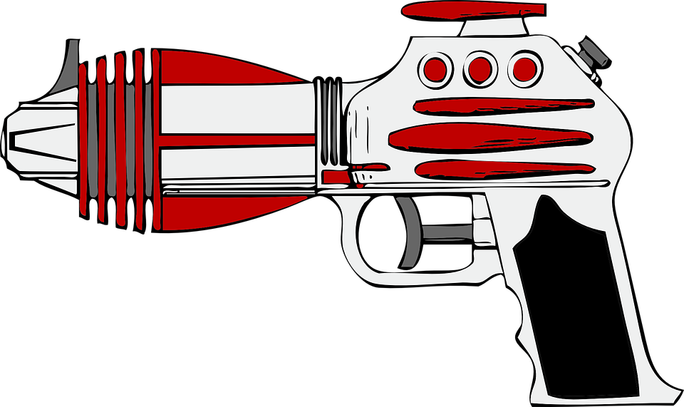 image royalty free Gun Clipart space
