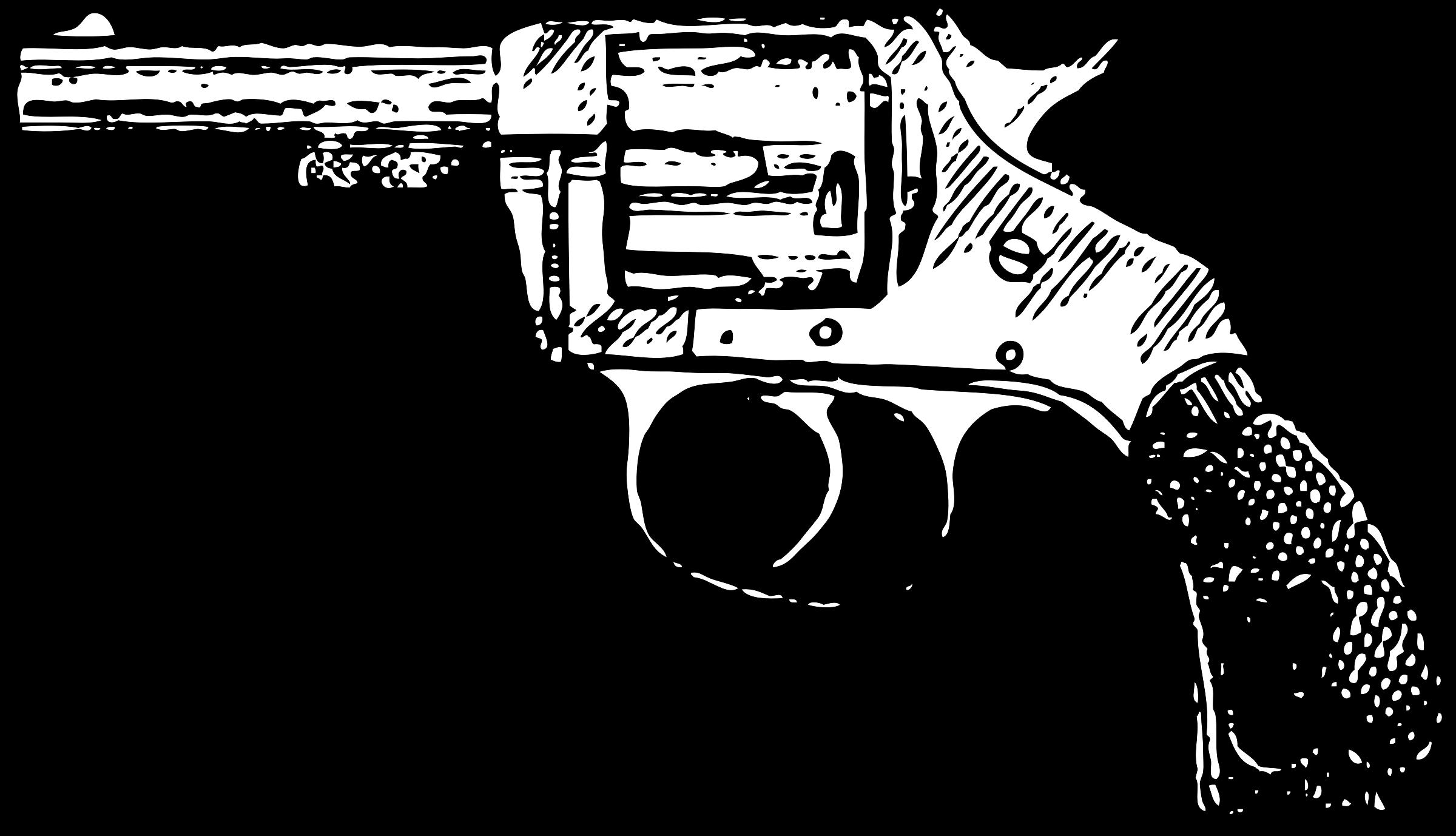 vector freeuse download Gun clipart pdf. Revolver