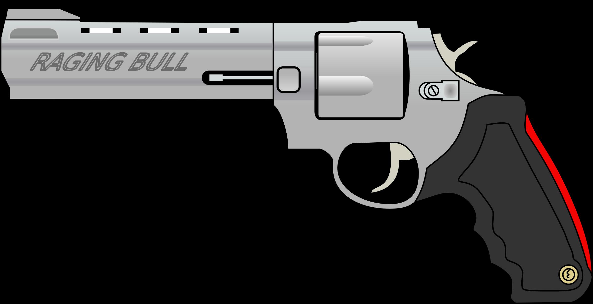 image royalty free stock Raging bull big image. Gun clipart pdf