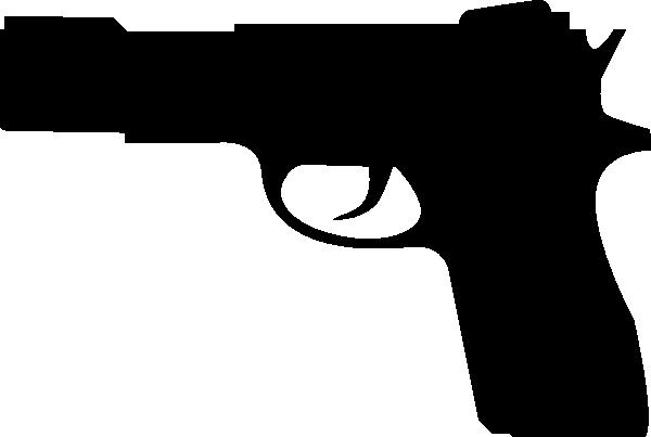 clip art Gun Silhouette Clip Art at Clker