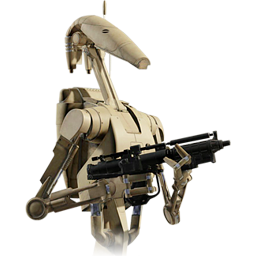 image free stock Gun clipart star wars. Battle droid icon png