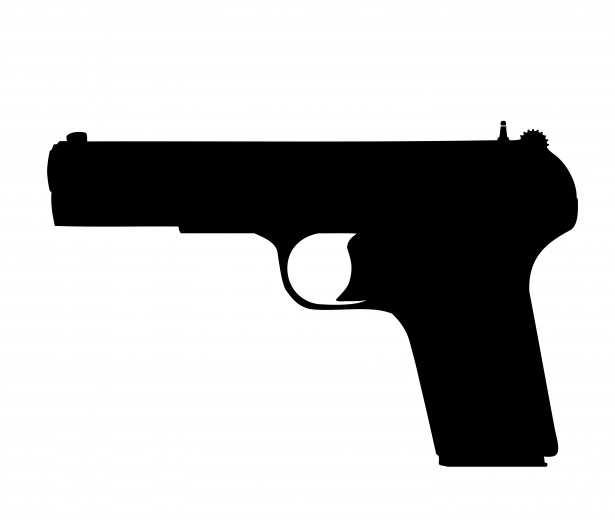 graphic freeuse stock Pistol free stock photo. Gun clipart.