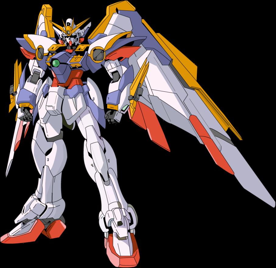 clip art free Gundam vector. Ka ver wing by