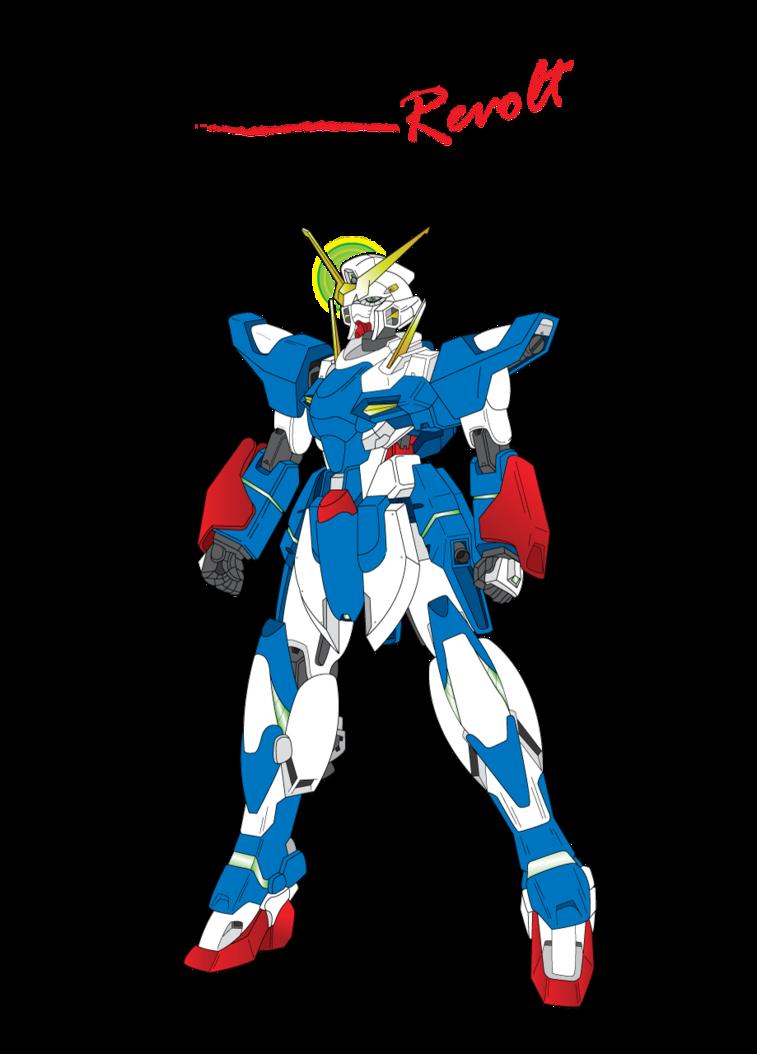 banner black and white download Revolution Gundam by keiku on DeviantArt