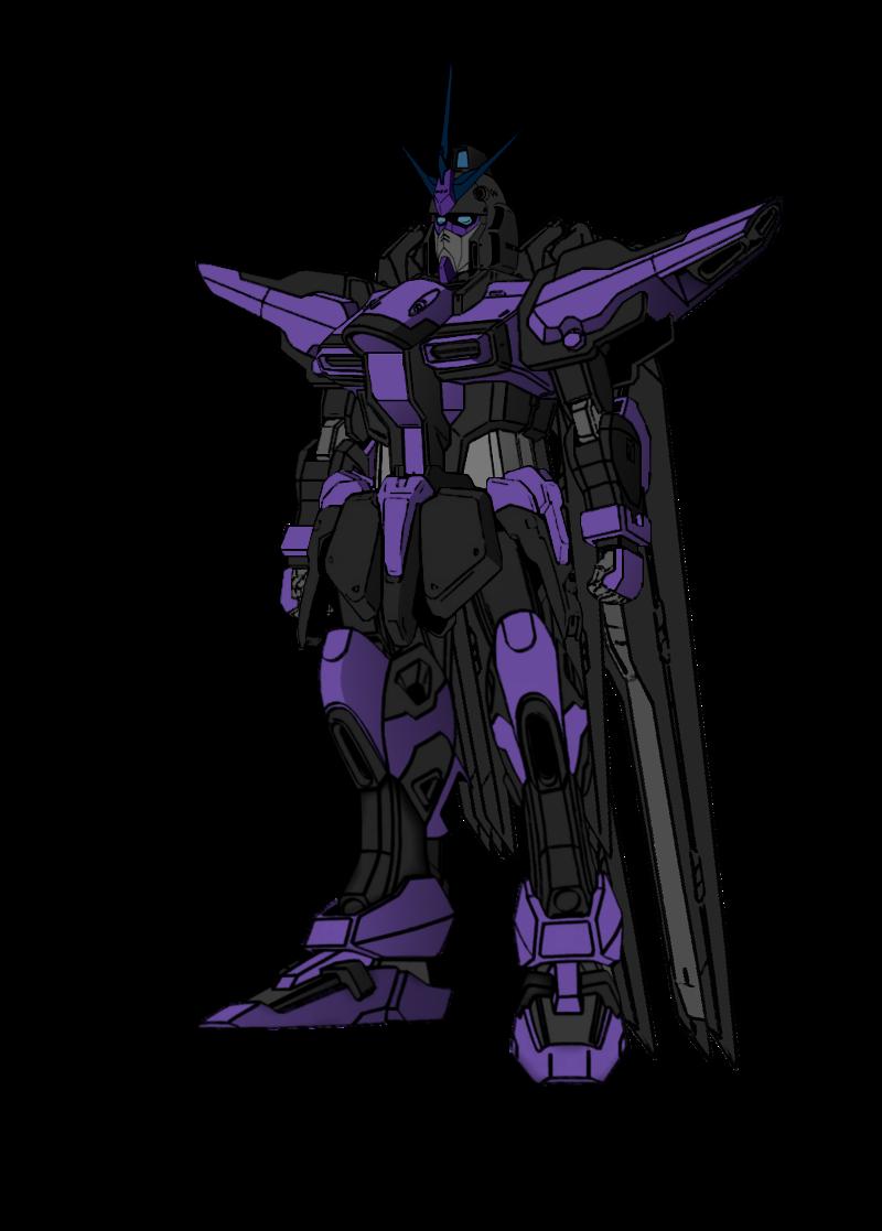 banner freeuse stock Vengence Gundam by Azure