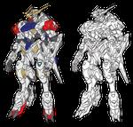 svg transparent stock Gundam Barbatos Lupus Line Art by stacalkas on DeviantArt
