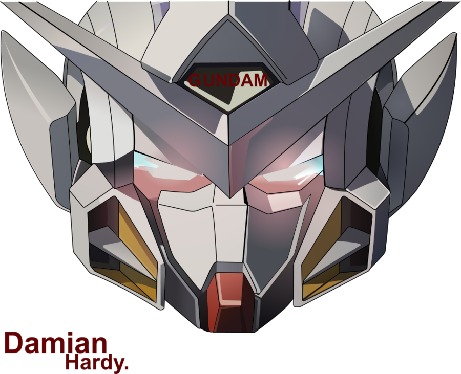 freeuse stock Gundam by Cpt