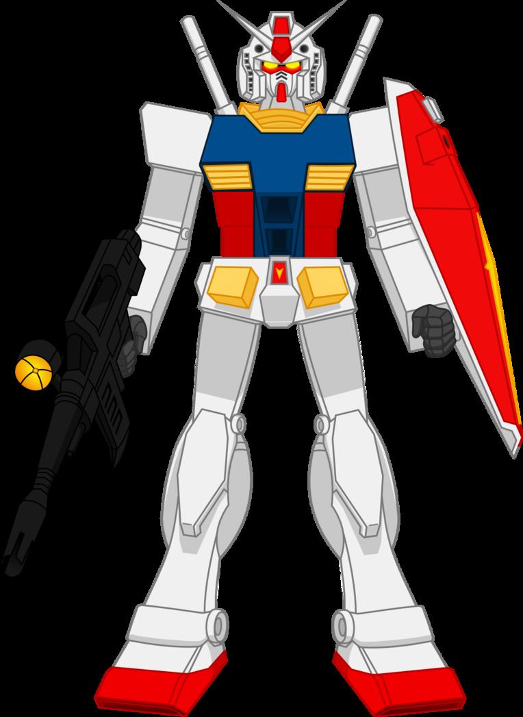 clipart stock Gundam RX