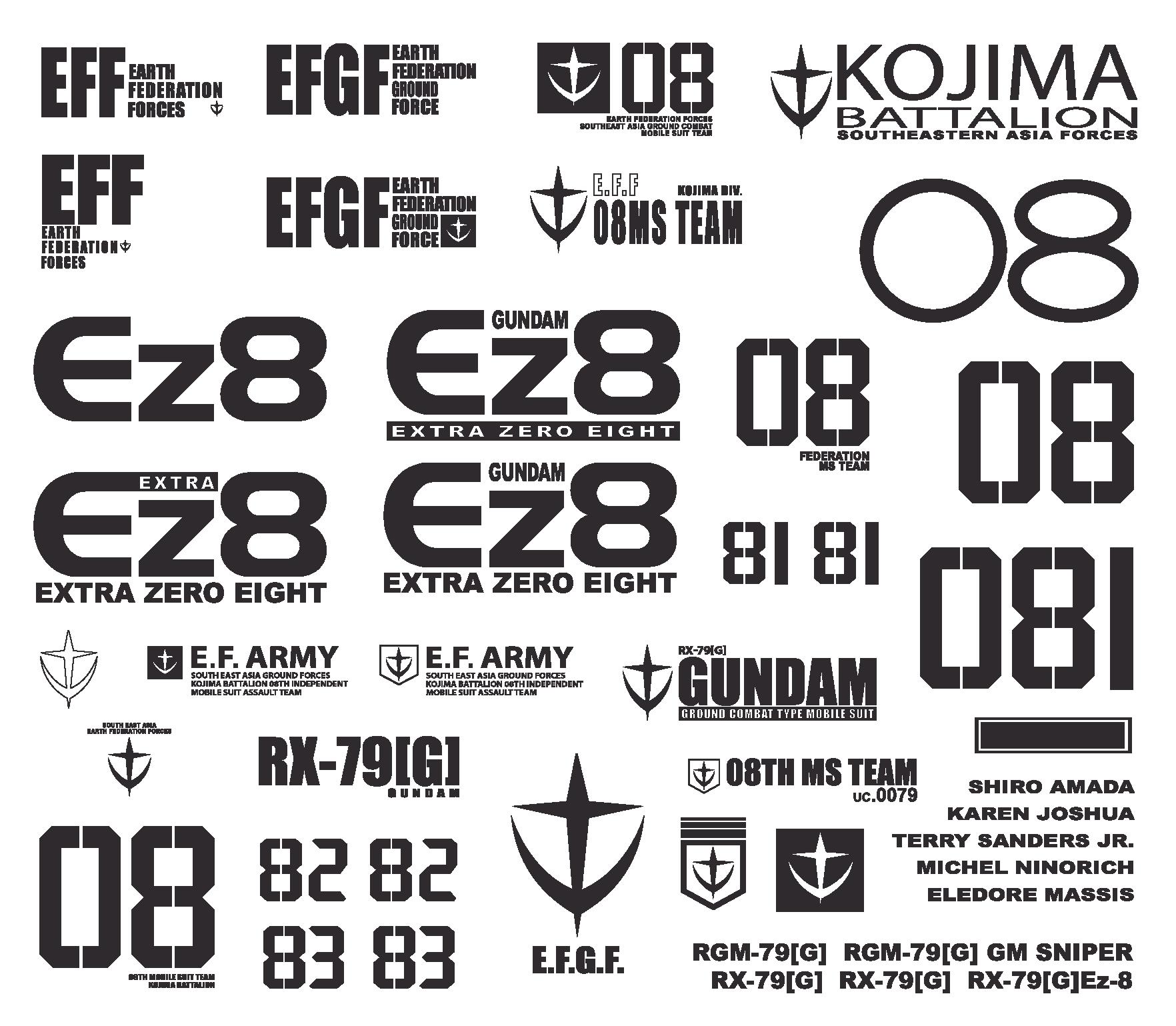 image free download gundam vector sticker #97335810