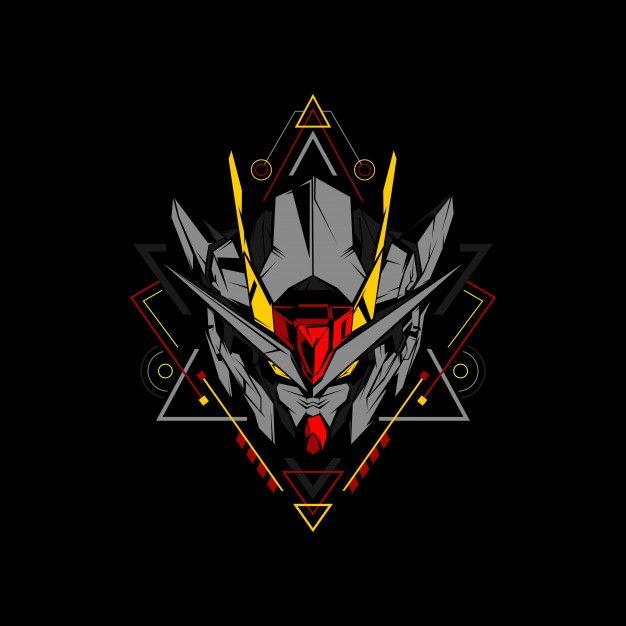 svg library download Gundam vector symbol. Geometric wallpapers art