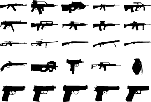 banner royalty free stock Clue Guns Pack Clip Art at Clker