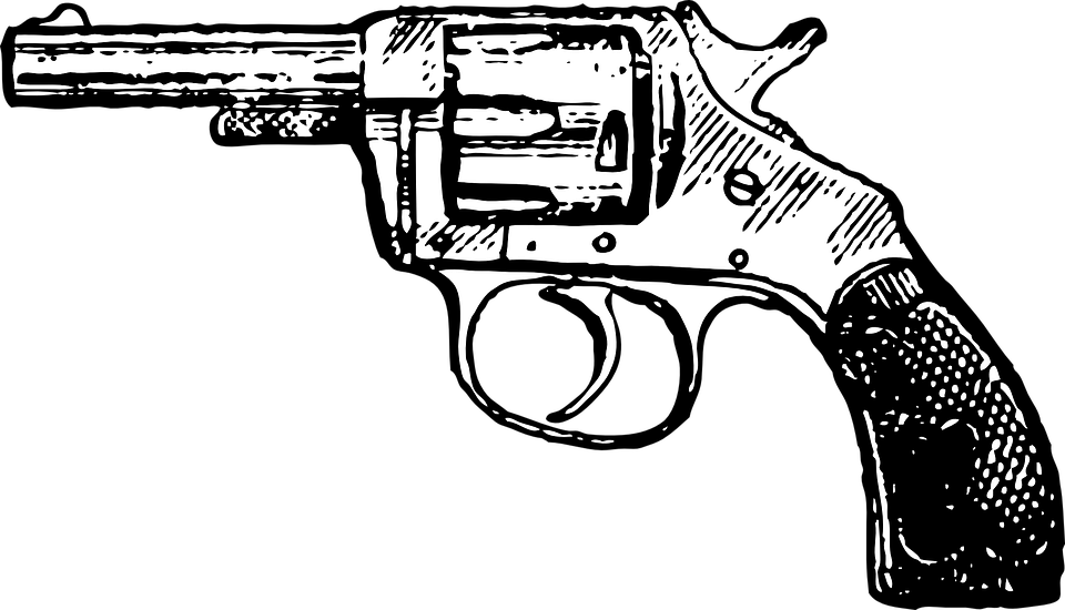 banner royalty free stock Opinion an issue not. Guns clipart black and white