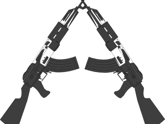jpg library stock Cross guns clipart