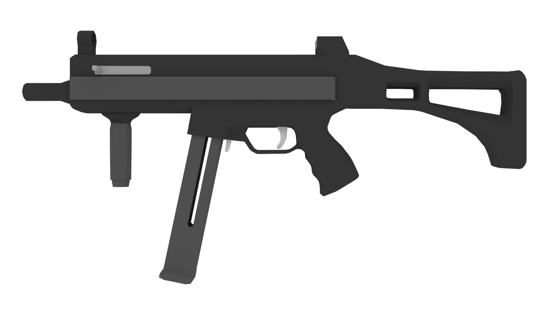 graphic library stock Guns clipart fps. Low poly arms pack