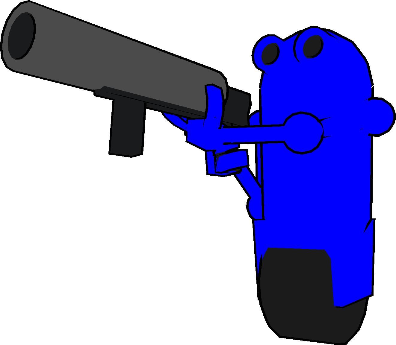 clipart black and white download Botcade windows mac linux. Guns clipart fps