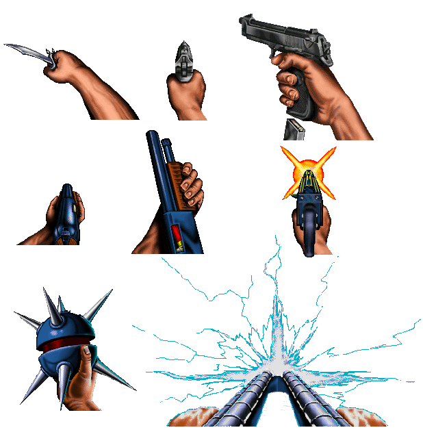clipart royalty free Guns clipart fps. Zdoom view topic dynamo