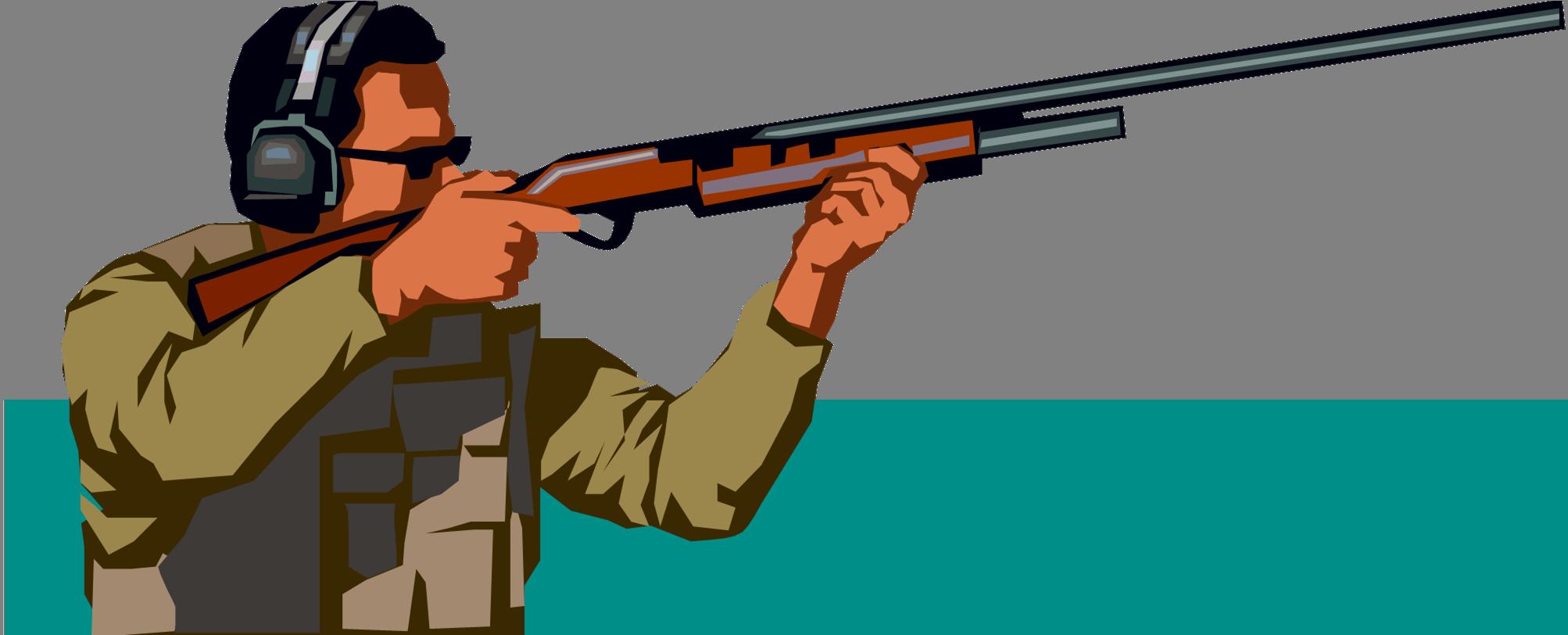 clip free library Guns clipart gun shooting.  collection of rifle