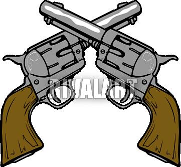 clip free stock Crossed guns panda free. Western gun clipart