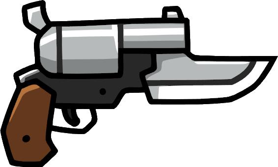 image black and white download Gun scribblenauts wiki fandom. Guns clipart knife