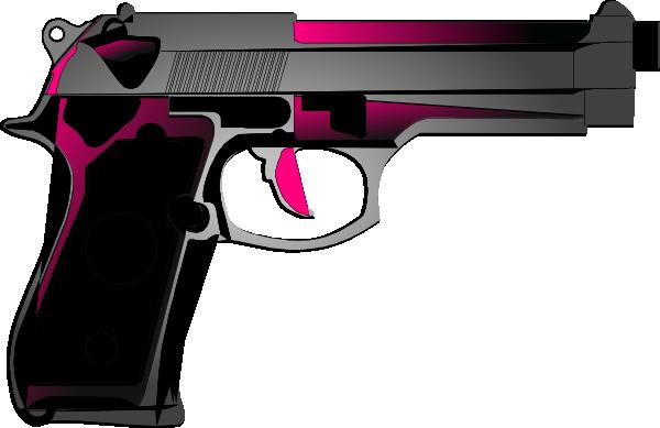 png free stock Womens pink handgun clip. Guns clipart toy gun