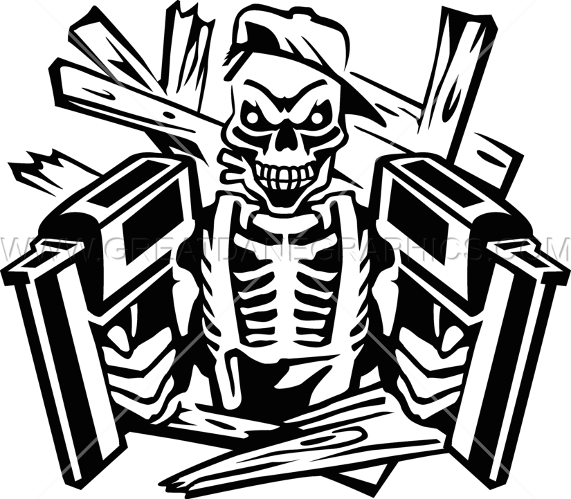 freeuse guns drawing skeleton #97356510