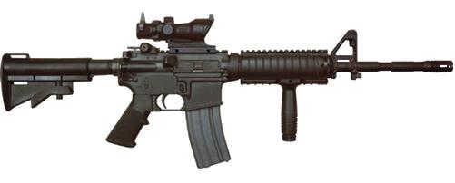 clip black and white Vector carbine m4a1. Image m transparent png