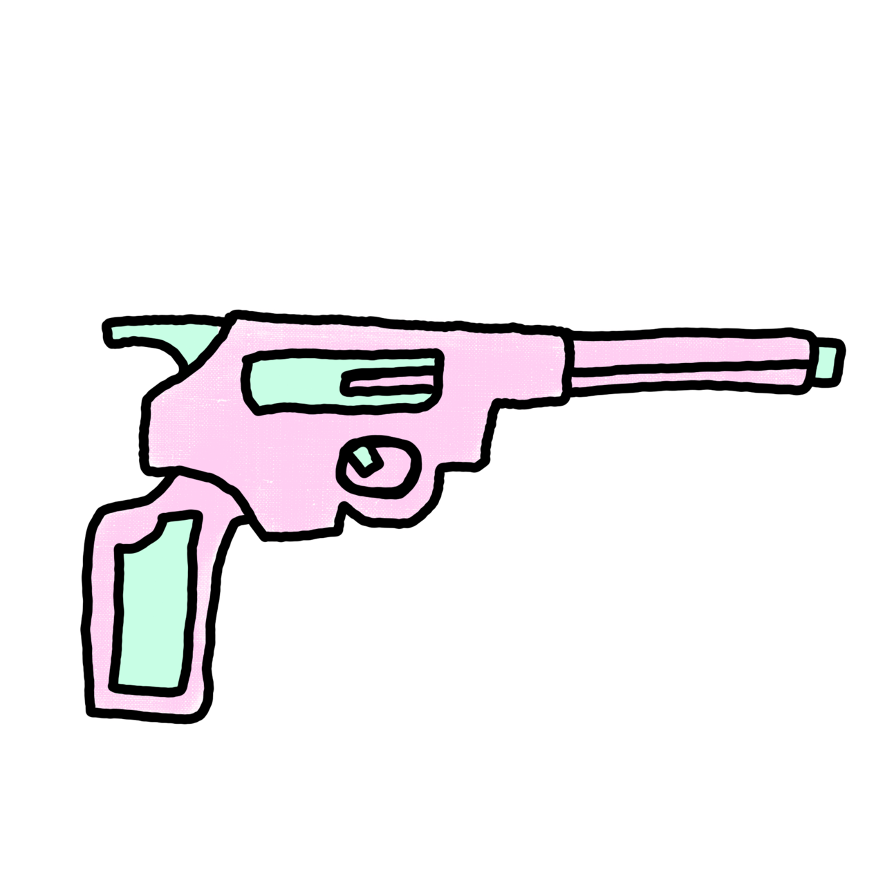 clip library stock Pastel Gun TRANSPARENT OVERLAY by mcjjang on DeviantArt