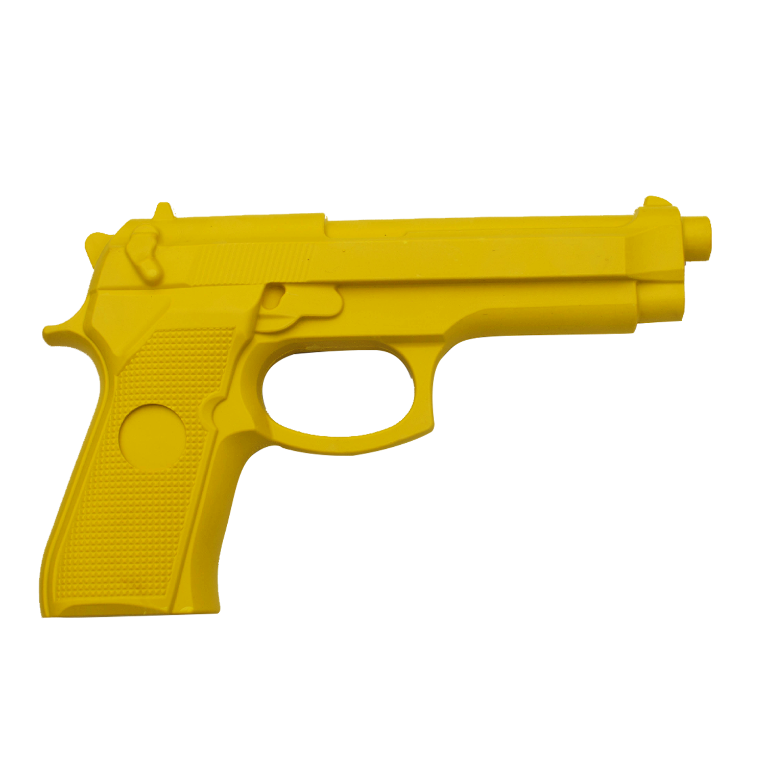 vector transparent Rubber Self Defense Training Gun Yellow