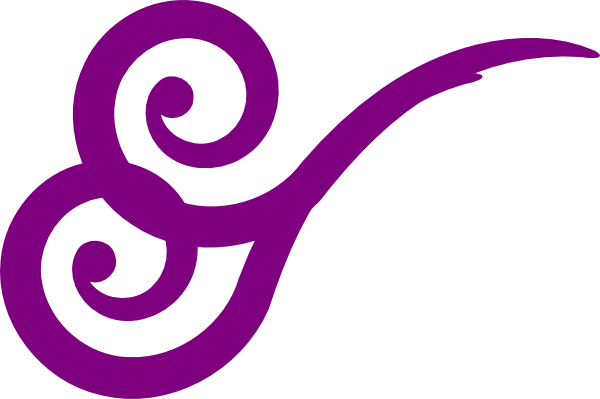 banner freeuse stock Wind Swirl Gusts Purple Clip Art at Clker