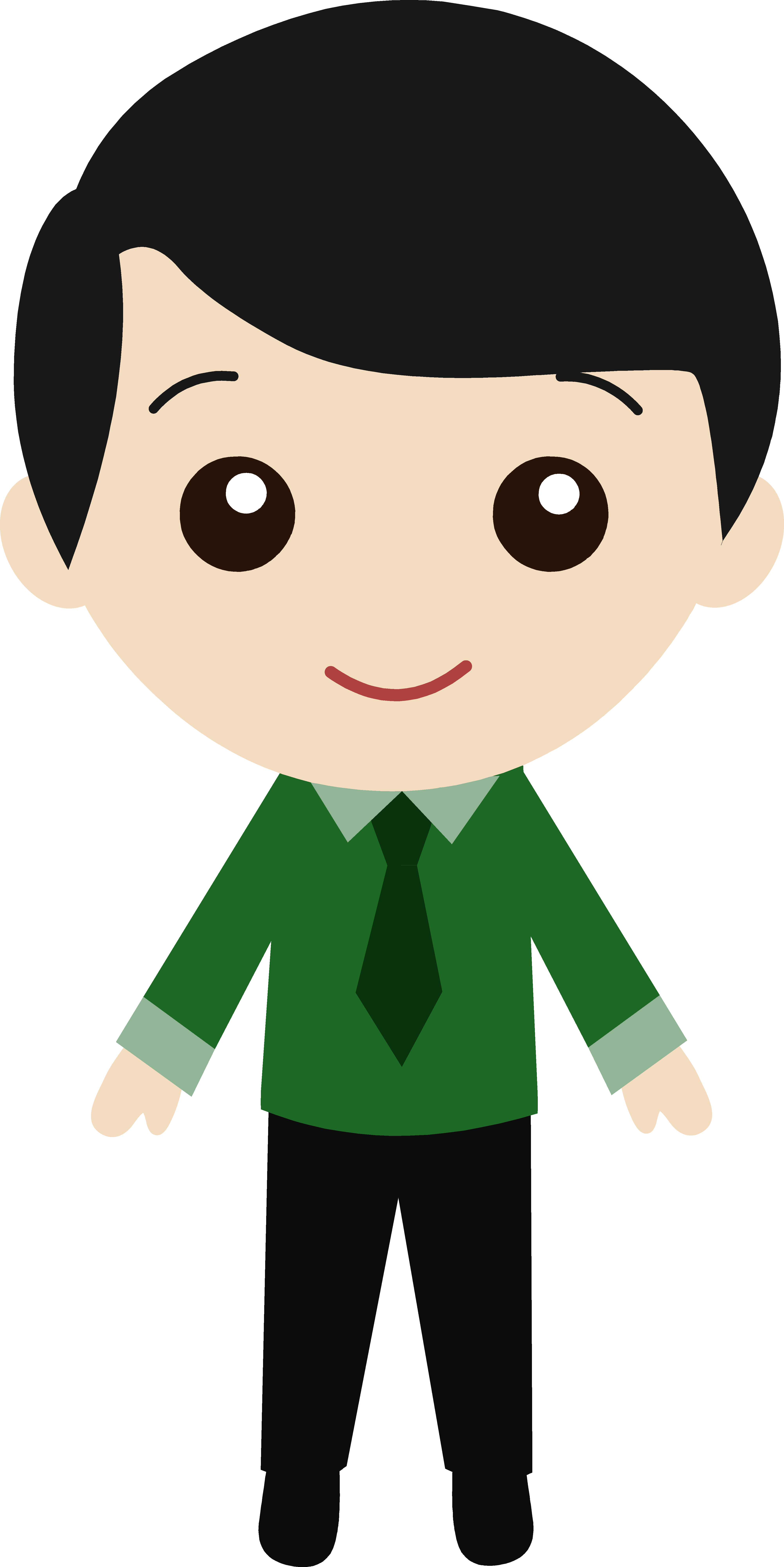 image transparent stock Cute Guy Clipart