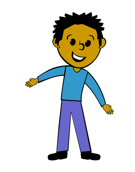 jpg library Guy clipart animated. Man clip art library
