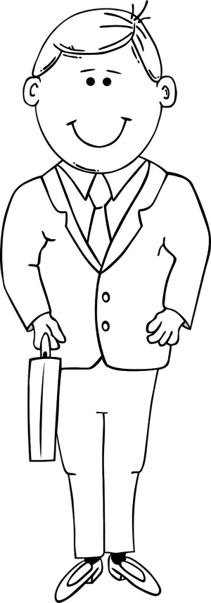 graphic library Guy clipart black and white.  collection of high