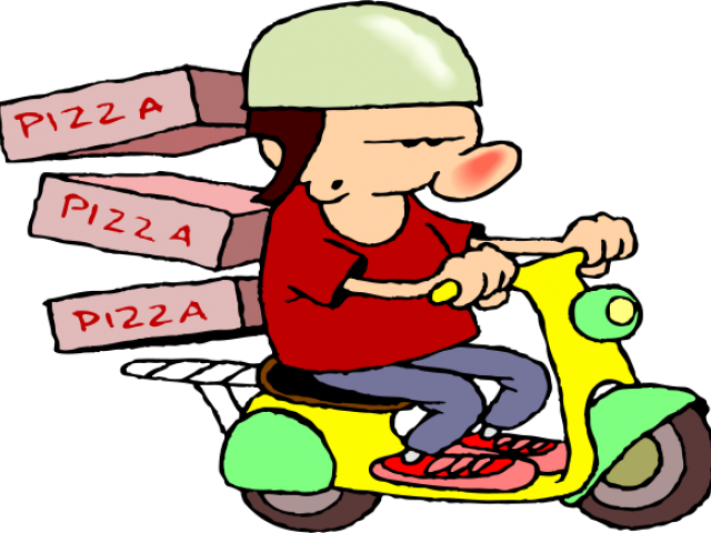jpg freeuse stock Guy clipart home delivery food. Free on dumielauxepices net