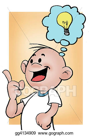svg Stock illustration smart illustrations. Guy clipart little boy