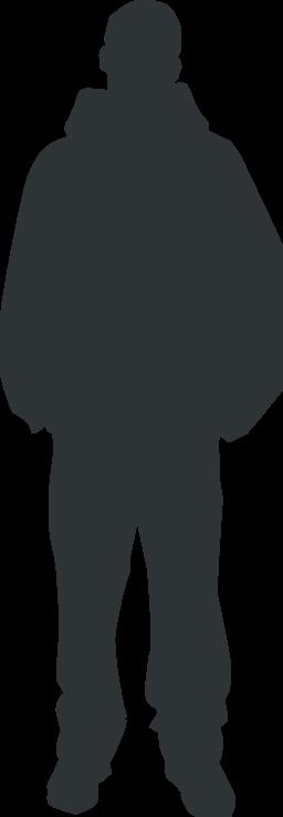 jpg transparent stock Personal clip art panda. Guy clipart single person