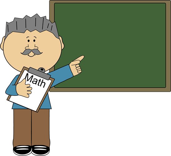 clip library Multiplication clipart math teacher. Man .