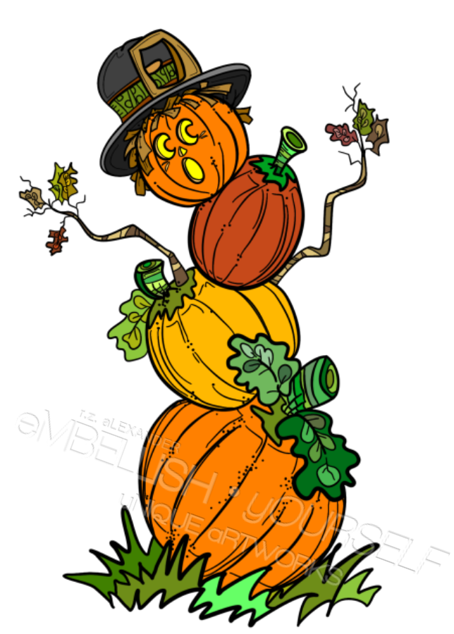jpg royalty free Pumpkin man created by. Guy clipart teacher