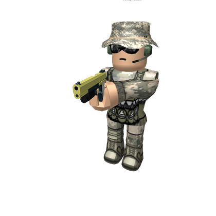 svg free library Army Guy Holding a Gun