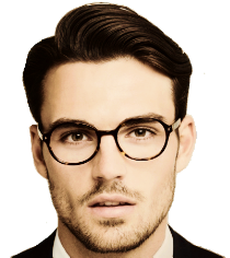 banner black and white stock Handsome Guy PNG Transparent Handsome Guy