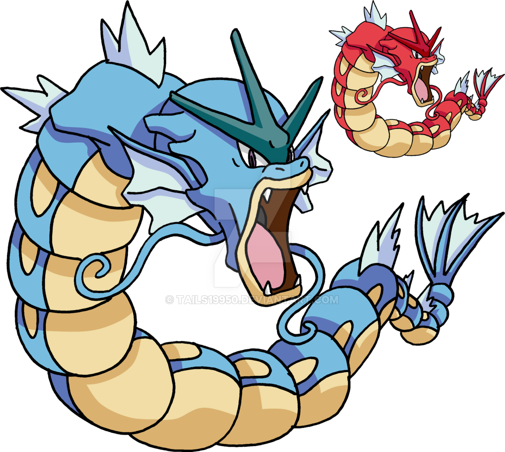 graphic transparent library gyarados drawing anime #113389991