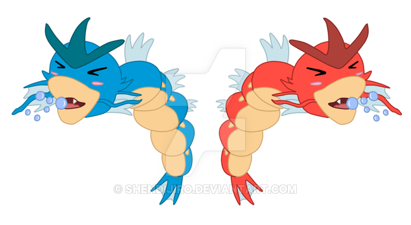 clipart black and white download Chibi Gyarados by Shendijiro on DeviantArt