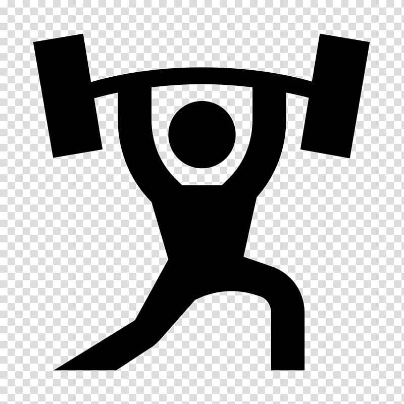 picture black and white stock Gym clipart. Olympic weightlifting weight training