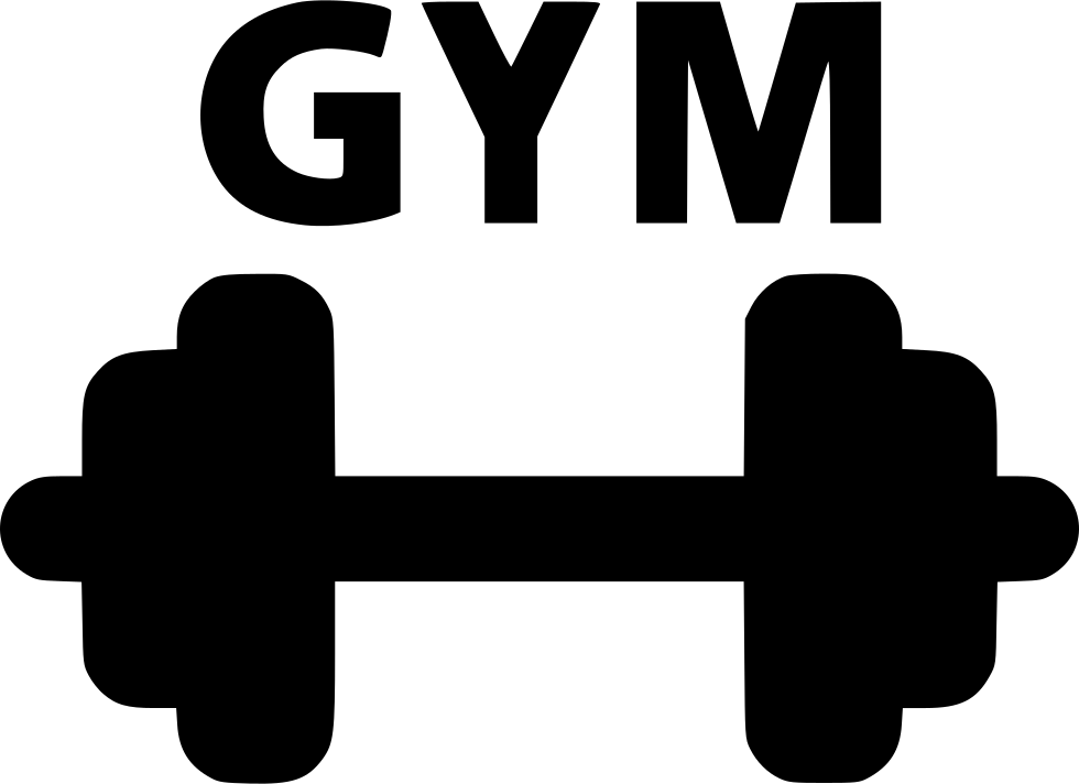 vector transparent stock Gym Dumbell Svg Png Icon Free Download