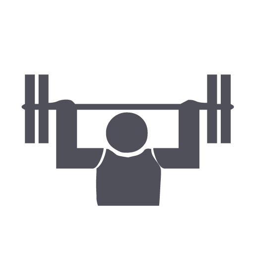 picture royalty free stock Weight body icon size. Gym clipart office building