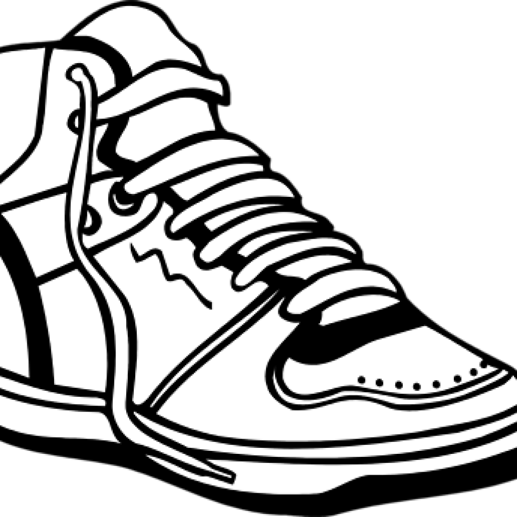 clip art free download Tennis clipart black and white. Shoes food hatenylo com.