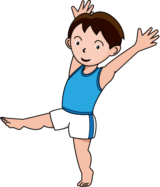 banner library Alt boys gymnastics black. Tumbling clipart