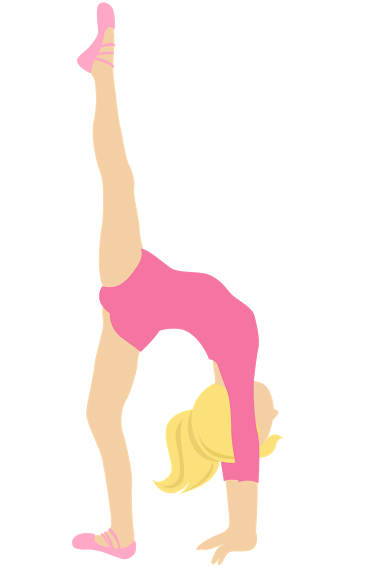 clip freeuse Gifs im genes de. Gymnastics clipart gymnastics party